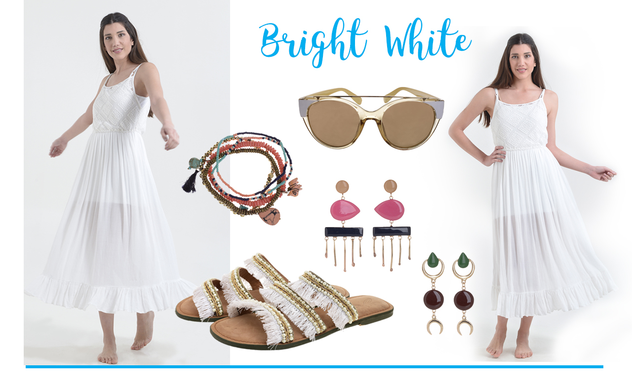 All in white: So fresh, so chic!